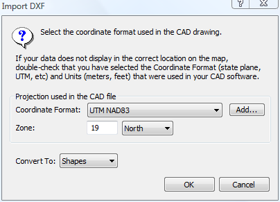 ExpertGPS Pro imports AutoCAD drawings in DXF and can send them to any GPS