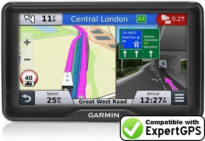 Download your Garmin Camper 760LMT-D waypoints and tracklogs and create maps with ExpertGPS