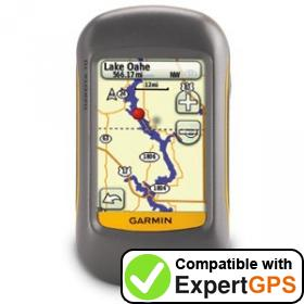 Download your Garmin Dakota 10 waypoints and tracklogs and create maps with ExpertGPS