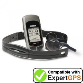 Download your Garmin Edge 305 waypoints and tracklogs and create maps with ExpertGPS