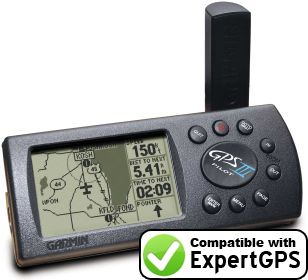 ExpertGPS supports the Garmin GPS III Pilot