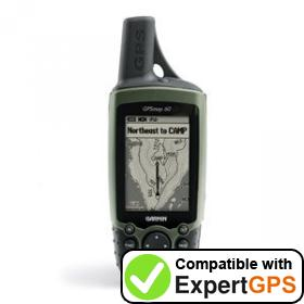 Download your Garmin GPSMAP 60 waypoints and tracklogs and create maps with ExpertGPS