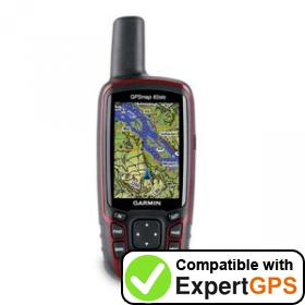 Download your Garmin GPSMAP 62stc waypoints and tracklogs and create maps with ExpertGPS