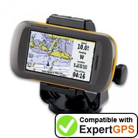 Download your Garmin Montana 600 waypoints and tracklogs and create maps with ExpertGPS