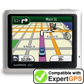 Download your Garmin nüvi 1100LM waypoints and tracklogs and create maps with ExpertGPS