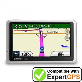 Download your Garmin nüvi 1300 waypoints and tracklogs and create maps with ExpertGPS