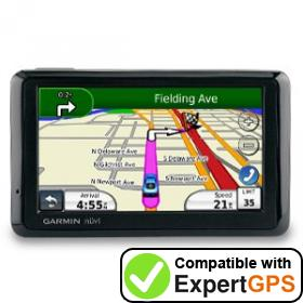 Download your Garmin nüvi 1370T waypoints and tracklogs and create maps with ExpertGPS