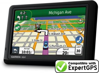 Download your Garmin nüvi 1490Tpro waypoints and tracklogs and create maps with ExpertGPS