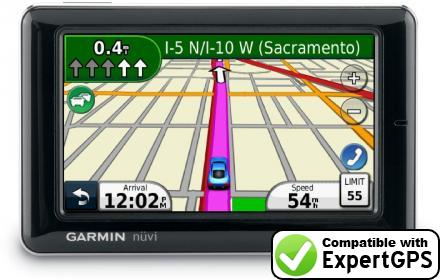 Download your Garmin nüvi 1690T waypoints and tracklogs and create maps with ExpertGPS