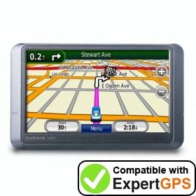 Download your Garmin nüvi 205W waypoints and tracklogs and create maps with ExpertGPS