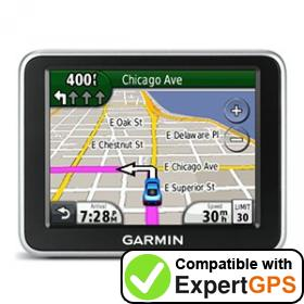 Download your Garmin nüvi 2250 waypoints and tracklogs and create maps with ExpertGPS