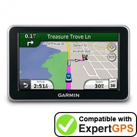 Download your Garmin nüvi 2300LM waypoints and tracklogs and create maps with ExpertGPS
