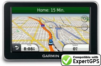 Download your Garmin nüvi 2360LMT waypoints and tracklogs and create maps with ExpertGPS