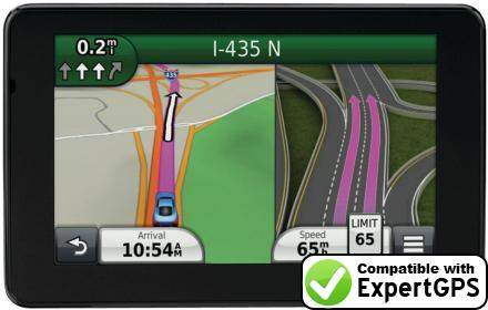 Download your Garmin nüvi 3550LMT waypoints and tracklogs and create maps with ExpertGPS