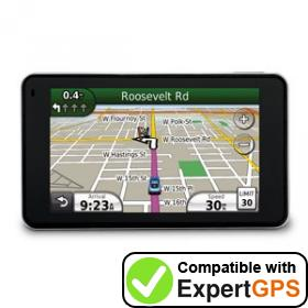 Download your Garmin nüvi 3750 waypoints and tracklogs and create maps with ExpertGPS