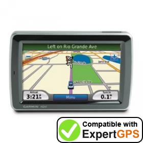 Download your Garmin nüvi 5000 waypoints and tracklogs and create maps with ExpertGPS