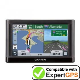 Download your Garmin nüvi 56LMT waypoints and tracklogs and create maps with ExpertGPS