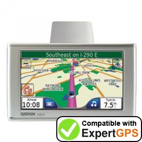 Download your Garmin nüvi 610 waypoints and tracklogs and create maps with ExpertGPS