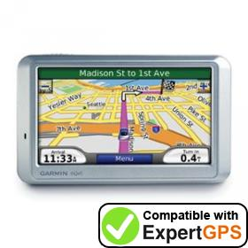 Download your Garmin nüvi 750 waypoints and tracklogs and create maps with ExpertGPS