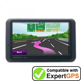 Download your Garmin nüvi 785T waypoints and tracklogs and create maps with ExpertGPS