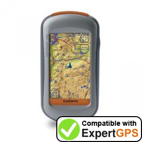 Download your Garmin Oregon 300 waypoints and tracklogs and create maps with ExpertGPS