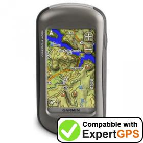 Download your Garmin Oregon 450t waypoints and tracklogs and create maps with ExpertGPS