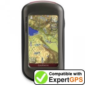 ExpertGPS supports the Garmin Oregon 550t