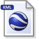 Convert to Google Earth's KML and KMZ formats with ExpertGPS gps software