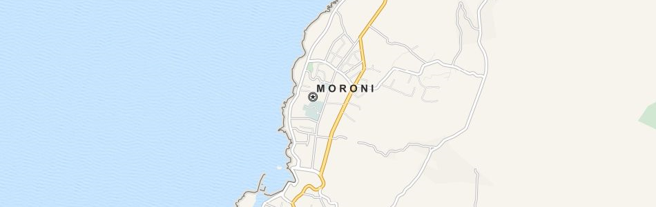Map of Comoros in ExpertGPS GPS Mapping Software