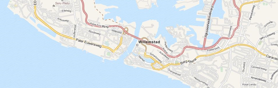 Map of Netherlands Antilles in ExpertGPS GPS Mapping Software